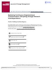 Exploring Continuous Organizational Transformation Morphing through Network Interdependence.pdf