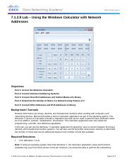 7.1.2.8 Lab - Using the Windows Calculator with Network Addresses (1).docx