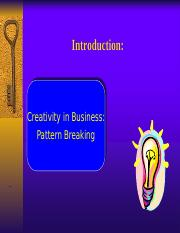 Ideation+Patterned+breaking+thinking+and+evaluation+tools+PART+1.ppt