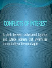 Lesson 8 CONFLICTS OF INTEREST.pptx