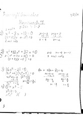 math homework: pages 385, problems 1-8