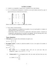 BMA 102 BUSINESS MATHS II NOTES on Matrices.pdf