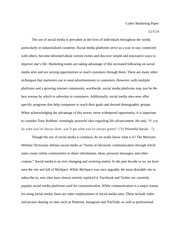 Cyber Marketing Final Paper