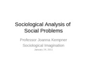 Sociological Imagination Class Notes(1)