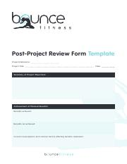 Post-Project-Review-Form-Fillable-Template