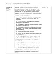 University of phoenix bis 220 week two information proposal