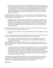 three economic questions essay