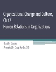 Chap 12 Organizational Change and Culture_2