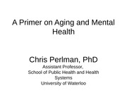 A+Primer+on+Aging+and+Mental+Health