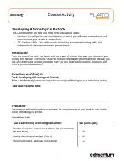 Developing a Sociological Outlook_CA (2).doc