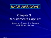 Chapter 3 Requirements Capture [upd]
