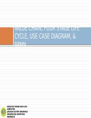 06. BPA - VALUE CHAIN, FOUR STAGE LIFE CYCLE, USE CASE DIAGRAM, & BPMN