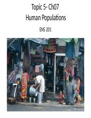 Topic 4- ENS201 - Human populations (1).ppt