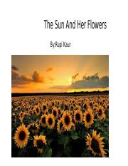 The Sun And Her Flowers.pptx
