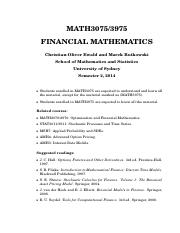 MATH3075_3975_Course_Notes_2014