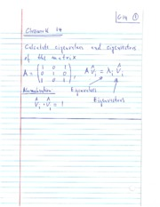 Homework 2 Solution on Matrices