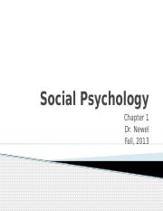 1. Social Psychology Introduction chapter 1 part 1.pptx