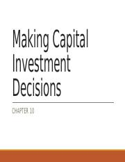 10 Making Capital Investment Decisions.pptx
