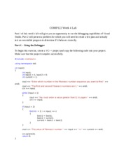 COMP122_W4_iLab_Solutions