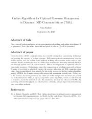 Online Algo for Optimal Resource Management in Dynamic D2D Comm.pdf
