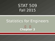 STAT 509 Chapter 3