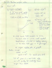 Lecture4-Algorithm analysis notes