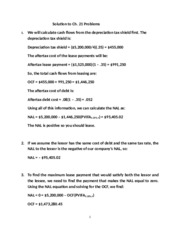 Corporate Finance - Solution to Ch.21 Problems