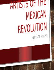 artists of the mexican revolution.pptx