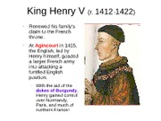 King Henry V and Joan of Arc Notes