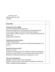 EALC Notes1