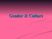 Gender (PowerPoint)