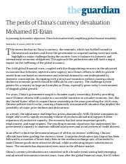 The perils of China's currency devaluation _ Business _ The Guardian.pdf