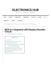 BCD to 7 Segment LED Display Decoder Circuit Diagram and Working.pdf