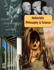 10 Hellenistic Philosophy and Religion - Tech 201 - 2015 UPDATE - Davis.ppt