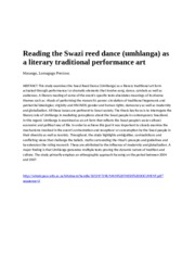 Reed+Dance_Reading+the+Swazi+reed+dance_Masango