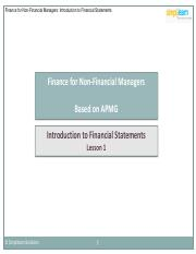 FNFM_Lesson 1_Introduction to Financial Statements__V1.0