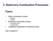 ChE 516 - 3 Stationary combustion processes