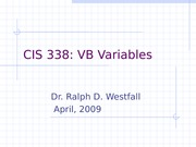 vbvariables