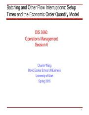 limitations of eoq model pdf