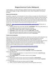BiogeochemicalCyclesWebquestStudentForm.docx ...