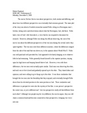 Kitchen Stories essay