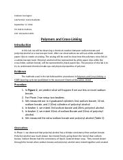 polymers and cross-linking lab report.docx
