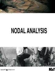 08 NODAL ANALYSIS