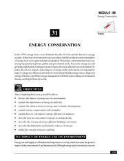 31B_Energy Conservation