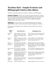 what is turabian style Chicago manual of style & turabian: format and documentation updated: 7-30-12-jm the chicago manual of style (cms) is mostly designed for authors scholarly.