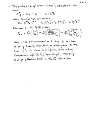ECE 361 Estimating Error Notes