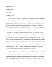 humanities humanities and social issues fgcu page  5 pages final essay docx