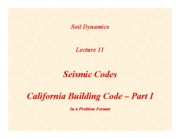 SD-Lecture11-Seismic-Codes-I