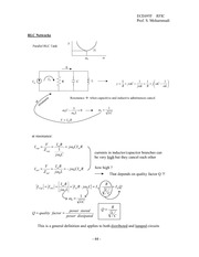 RFIC_Lecture_Note_No4_p44-p63 _Resonant circuit, Distribuà