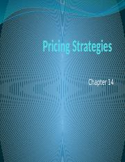 Developing Pricing strategy